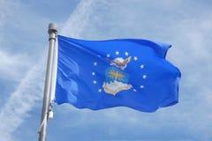 Флаг военновоздушной силы Стоковое Фото