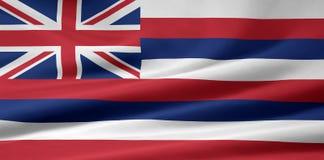 флаг Гавайские островы Стоковые Изображения RF