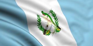 флаг Гватемала Иллюстрация вектора