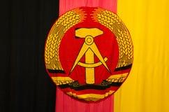 Флаг ГДР ГДР Стоковая Фотография RF