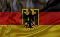 флаг Германия Флаги соотечественников поворачивать страны мира стоковое изображение rf