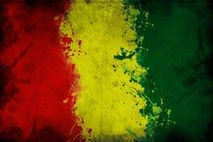 Флаг гинеи Стоковое Изображение