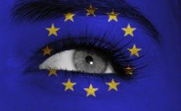 флаг глаза стоковое фото rf
