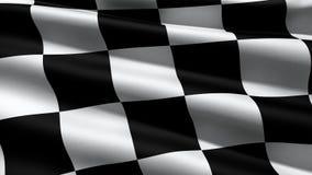 Флаг гонки иллюстрация штока