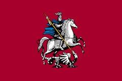 Флаг города Москвы бесплатная иллюстрация