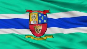 Флаг города Maracay, Венесуэла, взгляд крупного плана Иллюстрация вектора