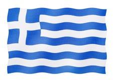 флаг Греция стоковое изображение