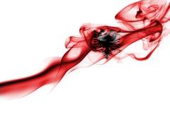 Флаг дыма Албании национальный Стоковое Фото