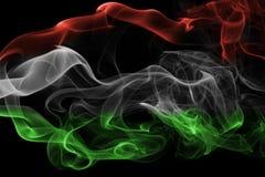 Флаг дыма Венгрии национальный Стоковые Изображения RF