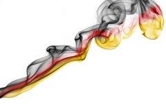 Флаг дыма Германии национальный Стоковые Фотографии RF