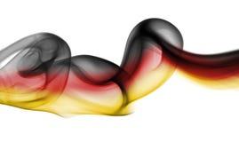 Флаг дыма Германии национальный Стоковая Фотография RF