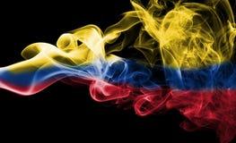 Флаг дыма Колумбии Стоковые Изображения