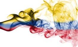 Флаг дыма Колумбии Стоковые Фотографии RF