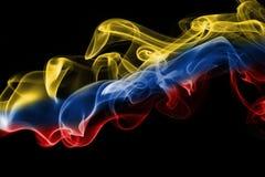 Флаг дыма Колумбии Стоковые Изображения RF