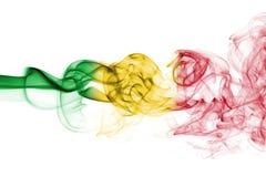 Флаг дыма Мали Стоковые Фотографии RF