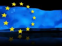 флаг европейца предпосылки Стоковое Изображение