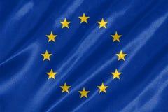 флаг европы eu иллюстрация вектора