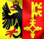 Флаг Женева, Швейцарии бесплатная иллюстрация