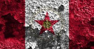 Флаг задымления городов Бирмингема, положение Алабамы, Соединенные Штаты Amer Стоковые Изображения