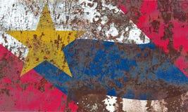 Флаг задымления городов Лафайета, положение Индианы, Соединенные Штаты Ameri стоковая фотография rf