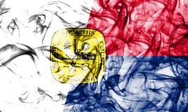 Флаг задымления городов Мемфиса, положение Теннесси, Соединенные Штаты Америки Стоковые Фото