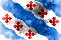 Флаг задымления городов Роквилла, положение Мэриленда, Соединенные Штаты Amer иллюстрация штока