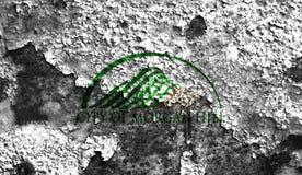 Флаг задымления городов холма Моргана, положение Калифорнии, Соединенные Штаты  Стоковые Фото