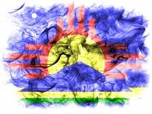 Флаг задымления городов Roswell, положение Неш-Мексико, Соединенные Штаты Amer бесплатная иллюстрация