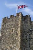 флаг замока Стоковое Фото