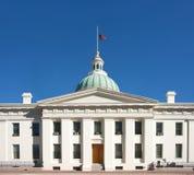 флаг здания суда половинный mast мы Стоковое Изображение RF