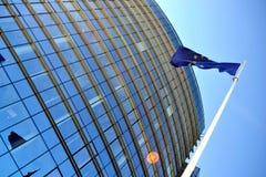 флаг здания Стоковая Фотография