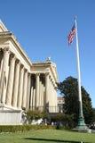 флаг здания Стоковое Фото