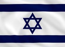 флаг Израиль Стоковое Изображение