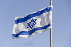 Флаг Израиля Стоковое Изображение RF