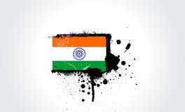 флаг Индия Стоковые Фото
