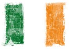 флаг Ирландия Стоковые Изображения RF
