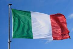 флаг Италия Стоковые Изображения RF