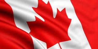 флаг Канады Стоковое Изображение