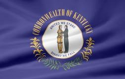 флаг Кентукки Стоковые Фотографии RF