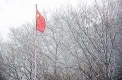 Флаг Китая стоковые изображения rf