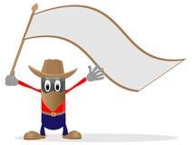 флаг ковбоя бесплатная иллюстрация
