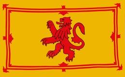 флаг королевская Шотландия Стоковые Изображения