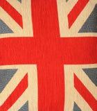 Флаг Королевства Соединенного Стоковые Фотографии RF
