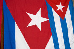 флаг Кубы Стоковое Фото