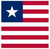 Флаг Либерии - Республика Либерия