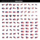 Флаг Малайзии, иллюстрация вектора иллюстрация вектора
