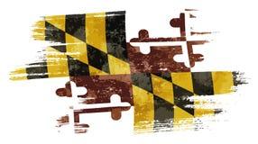 Флаг Мэриленда бесплатная иллюстрация