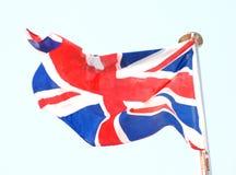 флаг национальная Великобритания Стоковые Изображения