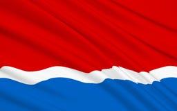 Флаг области Амура, Российской Федерации бесплатная иллюстрация