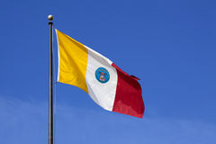 флаг Огайо columbus города Стоковые Фото